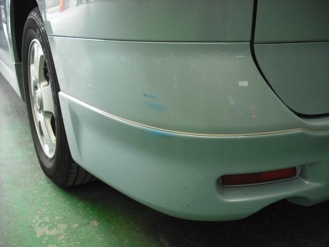 日産 C25 セレナ リヤバンパー スポイラー 塗装2コートパール