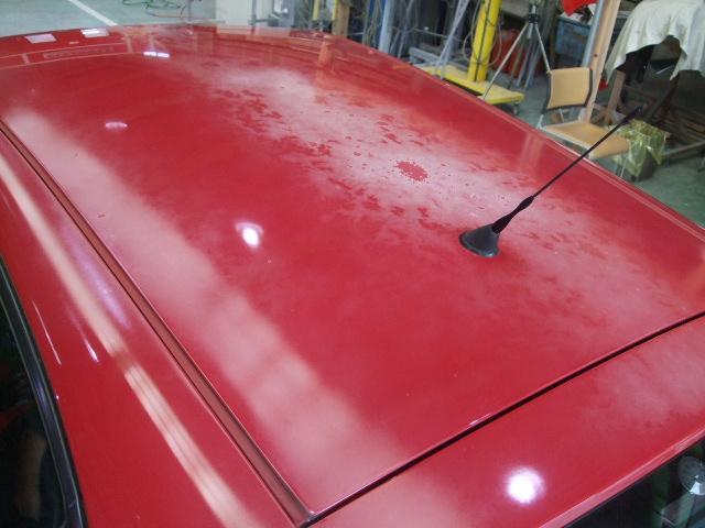 アルファ・ロメオ 『アルファ147セレスピード』塗装劣化による変色を修理